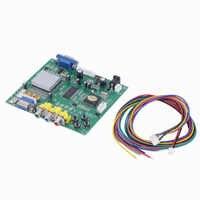 RGB CGA EGA YUV a VGA HD Video convertidor de modelado HD9800 HD convertidor GBS8200 no apantallado de protección