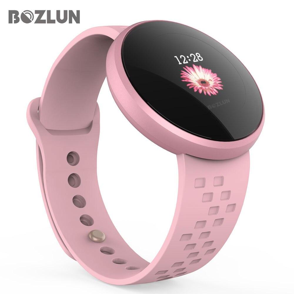 Bozlun модные женские туфли Smart цифровые часы женский период напоминание HeartRate водостойкие часы Colories шаг красота наручные B36