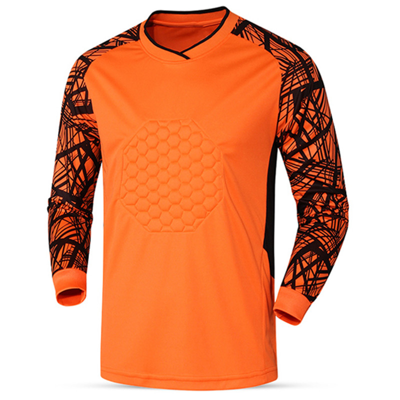 2018 Breathable Quick Dry Men Soccer jersey Training Goalkeeper Jerseys Doorkeepers survetement football Shirts Uniforms pants