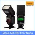 Meike mk-930 ii, mk930 flash speedlight para nikon d70 d80 d300 d700 d90 d7000 d300s d3200 d800 d800e como yongnuo yn560 yn-560 ii