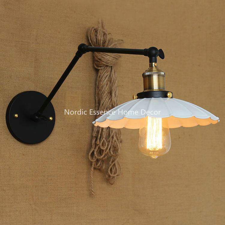 ФОТО American country style hotel industry retro shop bar Creative decorative village wall sconce bedroom home decor high quality