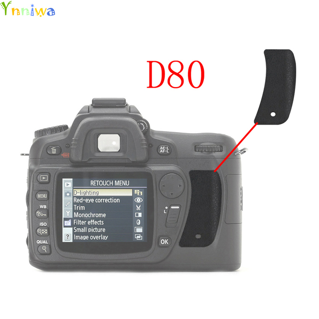 for nikon d80 the thumb rubber back cover rubber dslr camera rh aliexpress com nikon d80 user manual download nikon d80 instruction manual