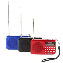 Mini Portable LCD Digital FM Radio Speaker USB Micro Fr SD Card Mp3 Music Player Hot Sale