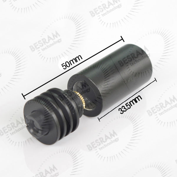 16*50mm House/Housing/Case With Lens 200nm-1100nm For 5.6mm TO18 Laser Diode LD
