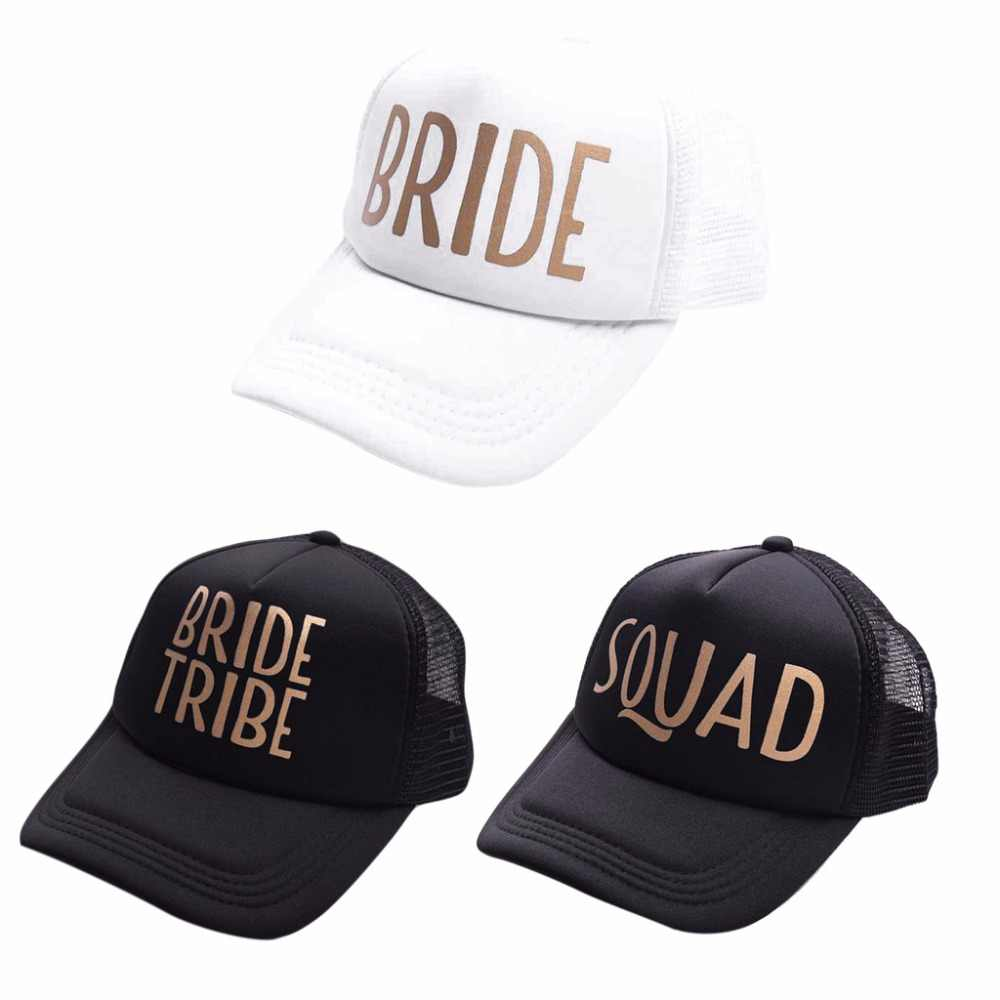 8cd4515d07c4c Detail Feedback Questions about Team Bride Squad Baseball Mesh Cap Men  Women Wedding Party Adjustable Snapback Hat Gold Letters Casquette Gift on  ...