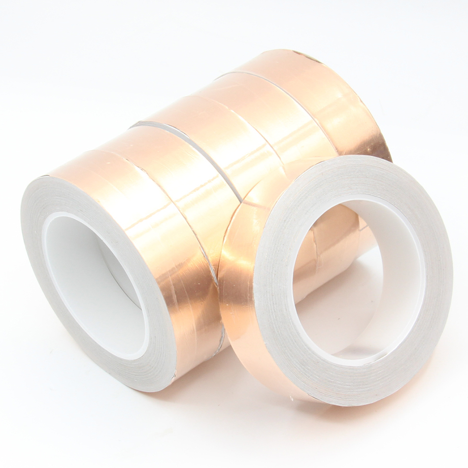 Insulation Shielding 10mm x 30Meter Copper Foil Adhesive Tape EMI RF