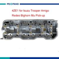 Motor part 4ZE1 cylinder head 910512 for Isuzu Trooper II Pick up Amigo Redeo Bighorn Mu 2.6L 8 97129 613 8 97111 155 0|4ze1 cylinder head|cylinder headisuzu trooper cylinder head -