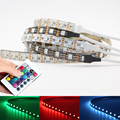 5V 5050 RGB LED Strip Light non/ip65Waterproof +24 key IR remote Controller USB cable Background Lighting Kit 60LEDs/m tape lamp