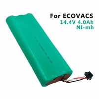 14.4V 4000mAh NI-MH temizleyici pil için ECOVACS Deebot 540/550/560/570/580/d58/D56/D54/D523 şarj edilebilir pil paketi