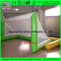 3m Long Floating Beach Game Kids Shooting Practise Inflated Soccer Goal Set Inflatable Water Sports