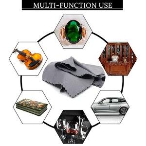 Image 1 - Nettoyeur de lunettes en microfibre, 3/5/7/pièce, 30x30cm, chiffon pour lentilles, appareil photo, outils de nettoyage ménager, chiffons