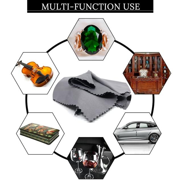 Nettoyeur de lunettes en microfibre, 3/5/7/pièce, 30x30cm, chiffon pour lentilles, appareil photo, outils de nettoyage ménager, chiffons
