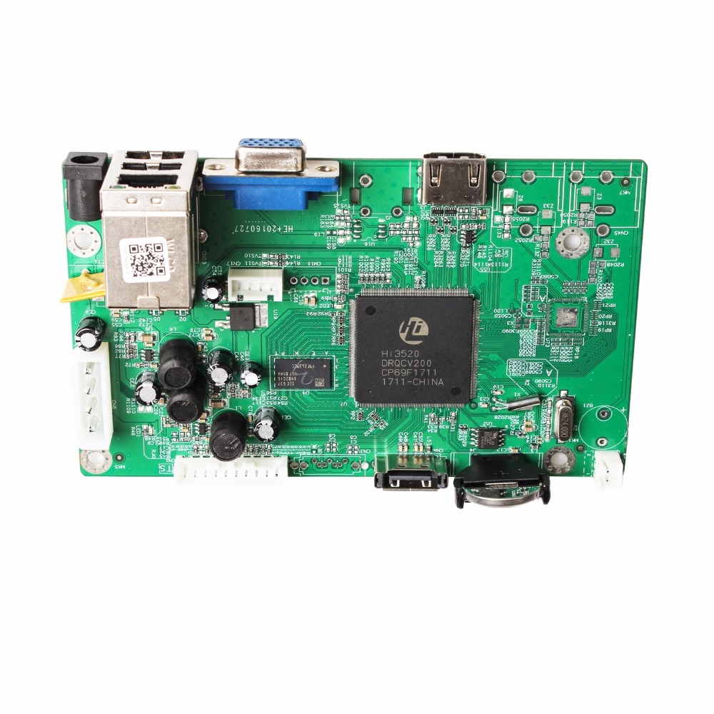 US $22 86 15% OFF|8CH CCTV NVR Board 1080P HI3520D Security NVR Module 8CH  1080P / 12CH 960P XMEYE P2P Mobile Monitoring Cloud Viewing-in Surveillance