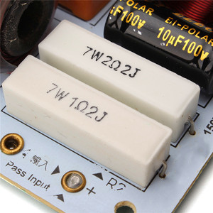 Image 5 - LEORY 新到着 L 380C 2 ピース/ロットスピーカー 3 ウェイハイファイオーディオ周波数分周器 3 ユニットクロスオーバーフィルター 180 ワット 85 × 112 ミリメートル