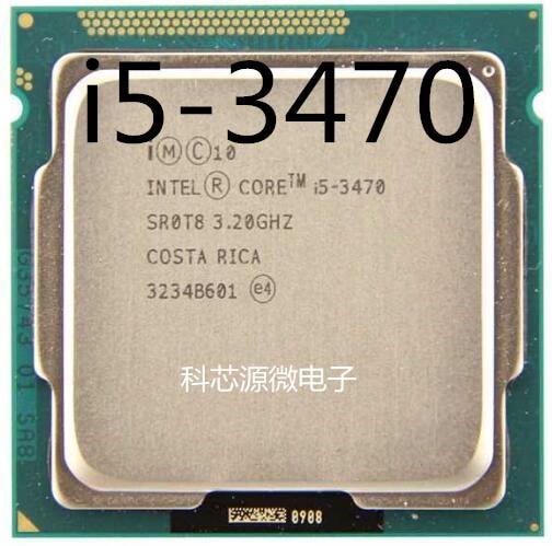 Четырехъядерный процессор Intel Core i5-3470 i5 3470 3,2 ГГц 6M 77W LGA 1155