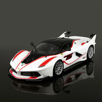 1:24 24 Styles Diecast Metal Super Car Model Toys For Ferraried With Steering Wheel Control Front Wheel Steering Toy Car For Kid