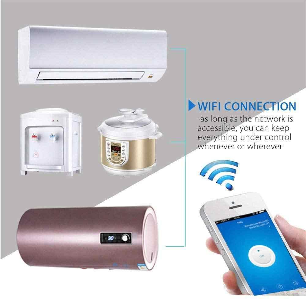 Lonsonho 10A inteligentna wtyczka inteligentne gniazdo WiFi w usa w wielkiej brytanii francja Australia wtyczka współpracuje z Alexa Google domu Mini IFTTT eWeLink