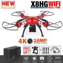 Syma X8HG X8HW X8 FPV RC Drone with 4K 16MP WiFi Camera 2 4G RTF 6