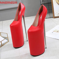 Big Size 34 46 Brand Shoes Woman High Heels Ladies Shoes 30CM Heels Pumps Women Shoes High Heels Sexy Wedding Shoes