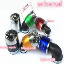 купить universal scooter motorcycle air filter motorcycle Modified  fan style mushroom head 32 35 38 42 48-50 52-54 58-60MM дешево