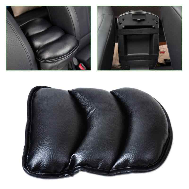 JoyLamoria Auto Center Console Armrest Pad Seat Box Cover Universal Fit Car Armrest Cover Cushion Mat for Vehicle Truck Car Accessories SUV Alpaca Cactus
