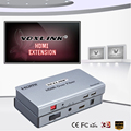 VOXLINK HDMI Extender Sobre Fibra de Audio y Vídeo multipunto a multipunto RX/TX señal de hasta 20 KM HDMI1.3 1080 p Para PS3 TVAD DVD STB