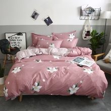 Dropshipping 2/3/4pcs King Size Fink Lover Bedding Sets Family Set Include Bed Sheet Duvet Cover Pillowcase Flower Gift