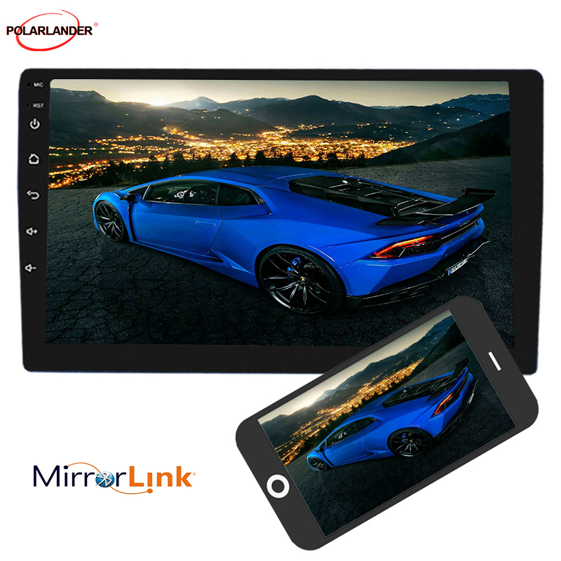 DVD Player WIFI Bluetooth MP5 Player GPS NAVIGATION  8.1 universal Car Radio 2 din 10 inch Android
