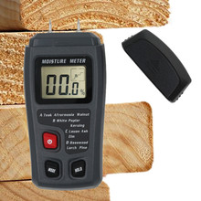 Humidity-Tester Timber-Damp-Detector Moisture-Meter MT10 Wood Digital with Large Lcd-Display
