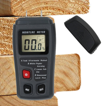 MT10 Two Pins Digital Wood Moisture Meter 0-99.9% Humidity Tester Timber Damp Detector with Large LCD Display 40%Off - discount item  40% OFF Measurement & Analysis Instruments