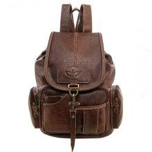 Women Backpack Vintage Backpacks for Teenage Girls Fashion School Bags 2017 High Quality PU Leather Rucksack Bag mochila XA658H
