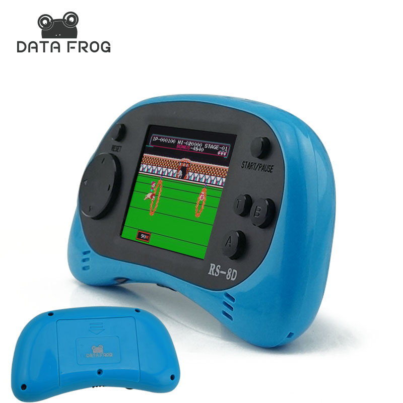 DATA FROG Portable Handheld Game Console Players Video Game