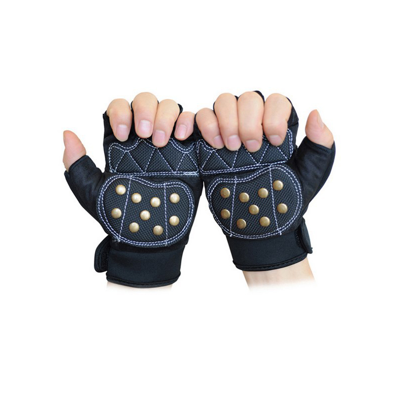 Free Shipping Downhill Safety Gear Glove Skateboard Gloves Slide Gloves With Slider Brake Gloves Long Board Silding