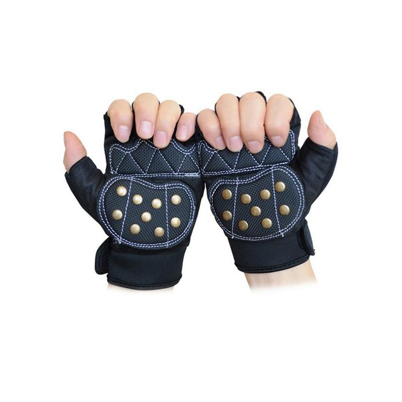 Free Shipping Downhill Safety Gear Glove Skateboard Gloves Slide Gloves With Slider Brake Gloves Long Board Silding