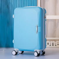 Hot Selling Trolley Travel Bag Case Rolling Luggage Suitcase Spinner Wheels ABS Luggage Suitcase Boarding Box