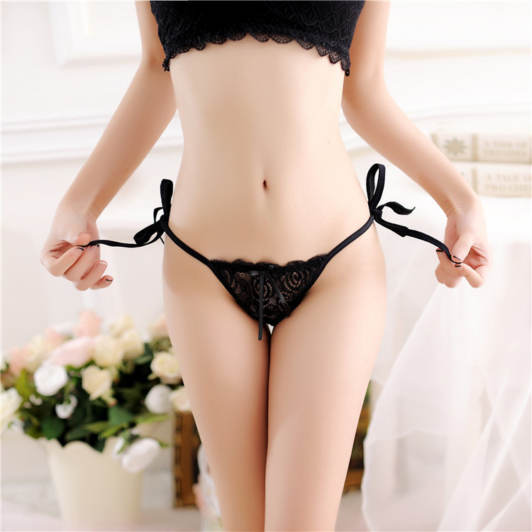 7color Gift Beautiful Lace Leaves Women's Sexy Lingerie Thongs G-string Underwear Panties Briefs Ladies T-back 1pcs/Lot SF1513