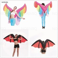 Inflatable Butterfly Adult Fairy Halloween Christmas Fancy Dress Dark Angel Wings Inflatable Costume Demon Bat 03