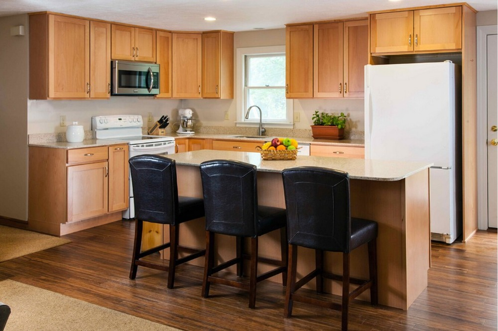 2017 Hot Sales Plywood Carcase Solid Wood Modular Kitchen Cabinets Furniture Suppliers China Kitchen Cabinets