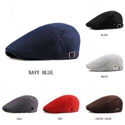 2019 New Arrival regulowany berety na zewnątrz słońce oddychające kości czapki z daszkiem kobiet mężczyzna w jodełkę stałe płaskie berety Cap kapelusz