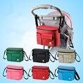 Accesorio cochecito aislamiento Baby Bag bolsas de pañales organizadores cesta cochecito carro de viaje cochecito de niño con errores accesorios