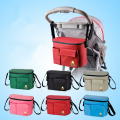 Stroller Accessory Insulation Bag Baby Diaper Bags Organizers Cup Basket Pushchair Travel Carriage Pram Buggy Accessories