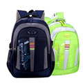 Teen orthopedic schoolbags Large capacity school bags of boys and girls Durable nylon reflective safety of children school bag