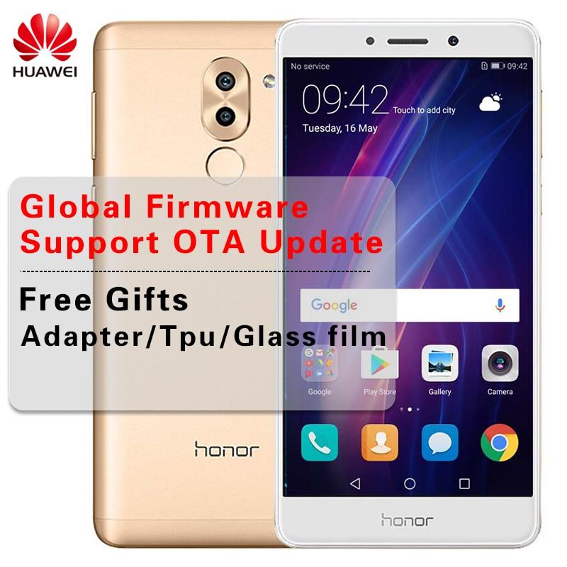 Международная прошивка huawei Honor 6X3 ГБ Оперативная память 32 ГБ Встроенная память Octa Core мобильный телефон 5,5 дюймов отпечатков пальцев Android 6,0