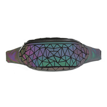 Fanny Packs Waist Pack for Women Luminous Holographic Traveling Bum Bag