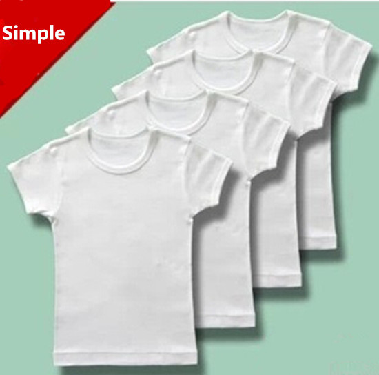 2014 summer style short sleeve basic t shirt boys solid for Cheap plain colored t shirts