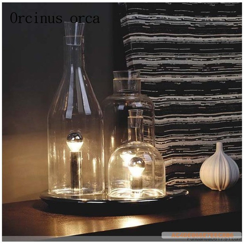 European style creative glass wine bottle table lamp living room bar european style creative glass wine bottle table lamp living room bar bedroom modern simple desk decoration lamp free shipping in table lamps from lights aloadofball Choice Image