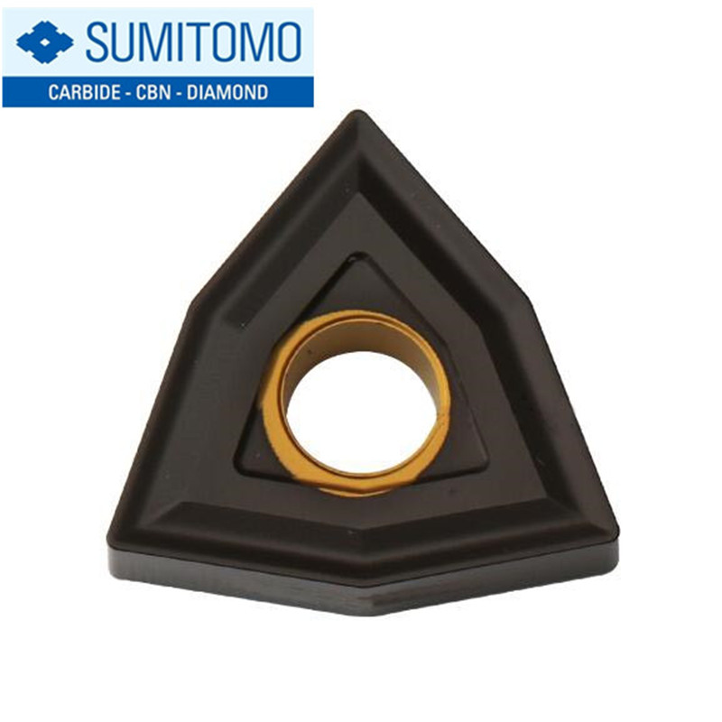 WNMG080404N GZ AC420K WNMG080408N GZ AC420K WNMG080412N GZ AC420K Sumitomo Carbide Tip Lathe Insert Milling Blade