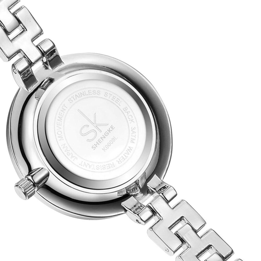 SK New Women Watches Brand Luxury 30m Waterproof Clock Ladies Quartz Sport Wrist Watch Women Gold Bracelet Relogio Feminino 2017