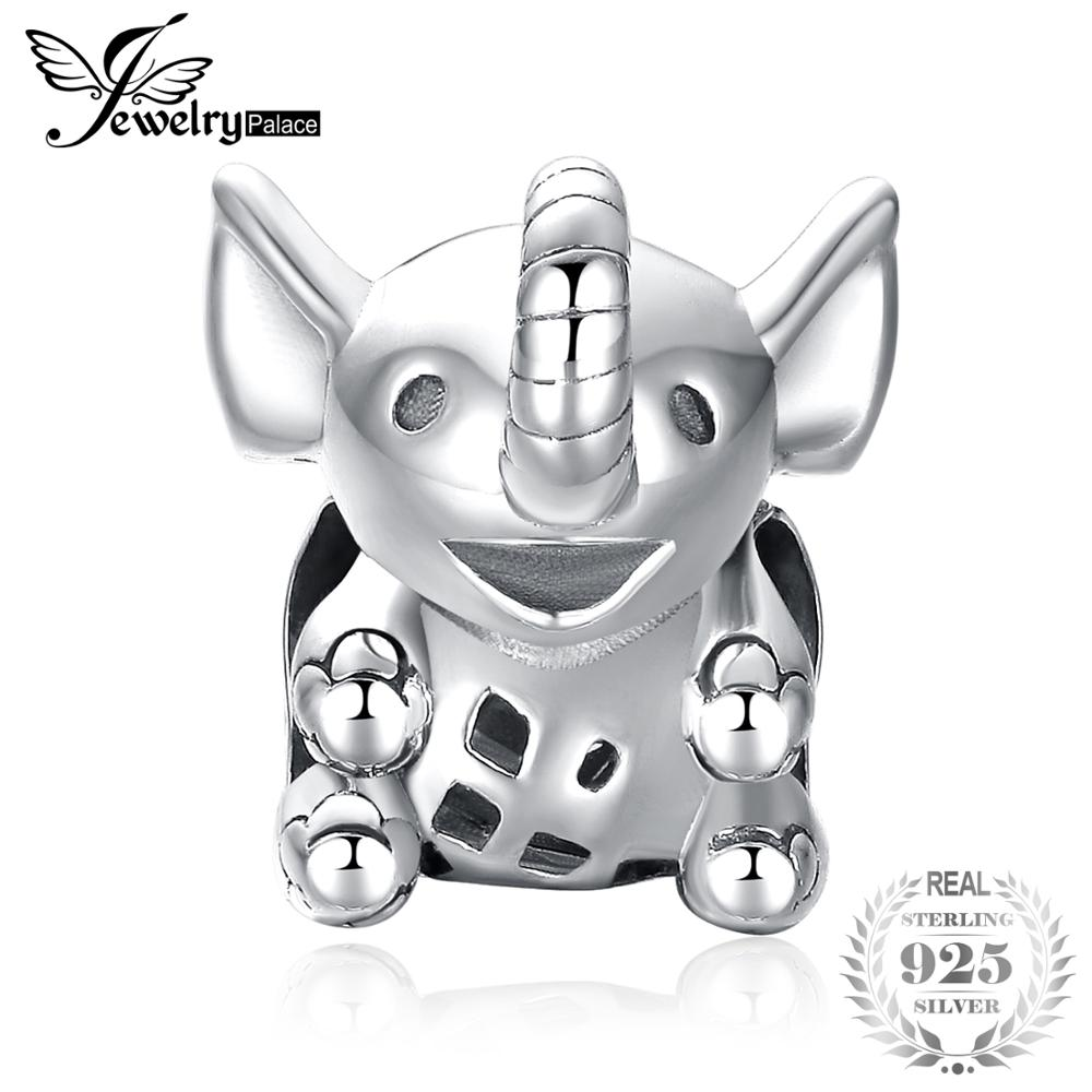 JewelryPalace 925 Sterling Silver Dumbo Big Ear Elephant Charm Beads Fit Bracelets For Women As Beautiful Gifts New Hot SaleJewelryPalace 925 Sterling Silver Dumbo Big Ear Elephant Charm Beads Fit Bracelets For Women As Beautiful Gifts New Hot Sale