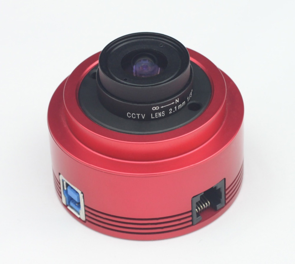 ZWO ASI224MC Color Astronomy Camera ASI Planetary Solar Lunar imaging Guiding High Speed USB3 0